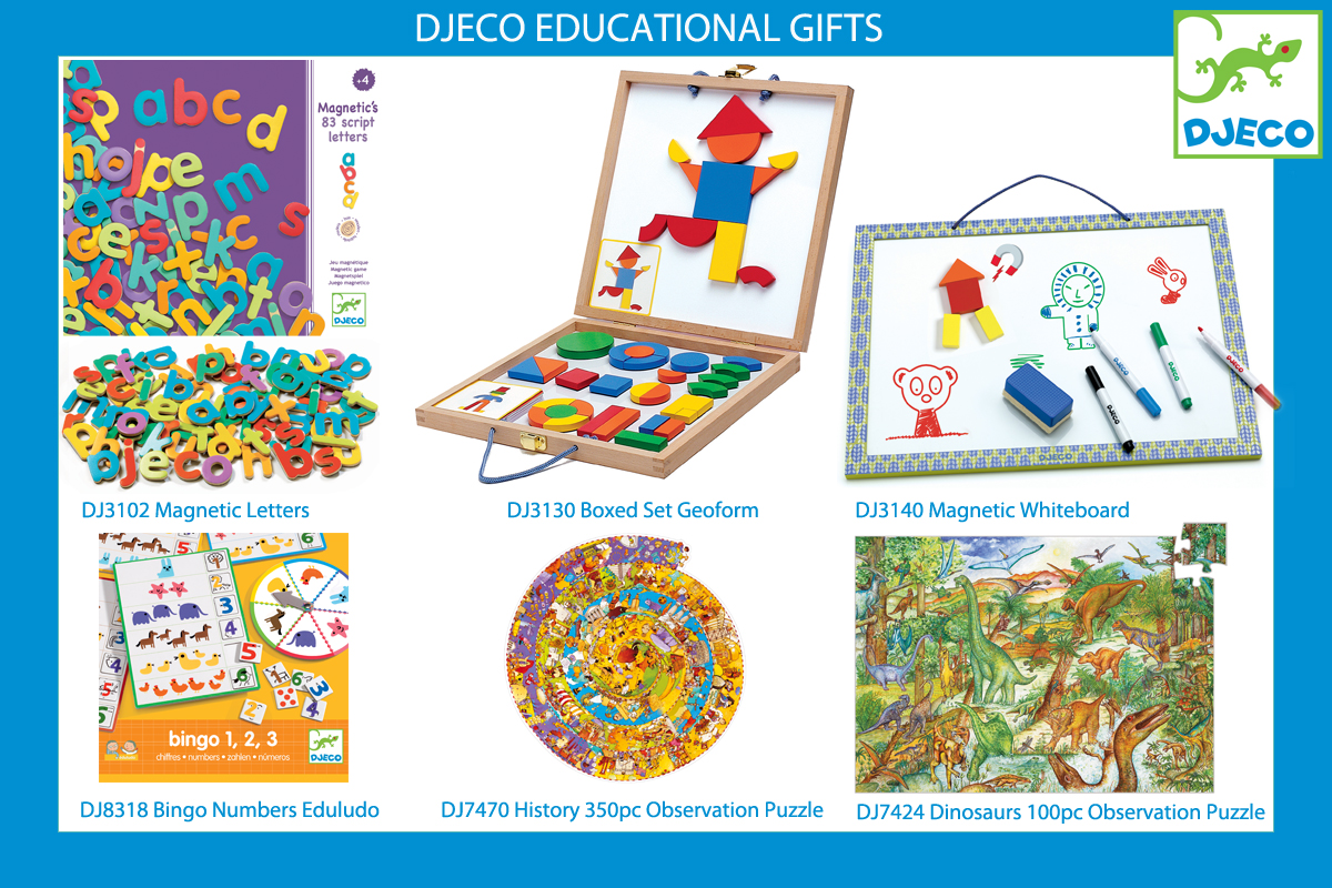 Kaleidoscope Djeco Educational Gifts Christmas DJ8318 DJ7470 DJ7424 DJ3102  DJ3130  DJ3140