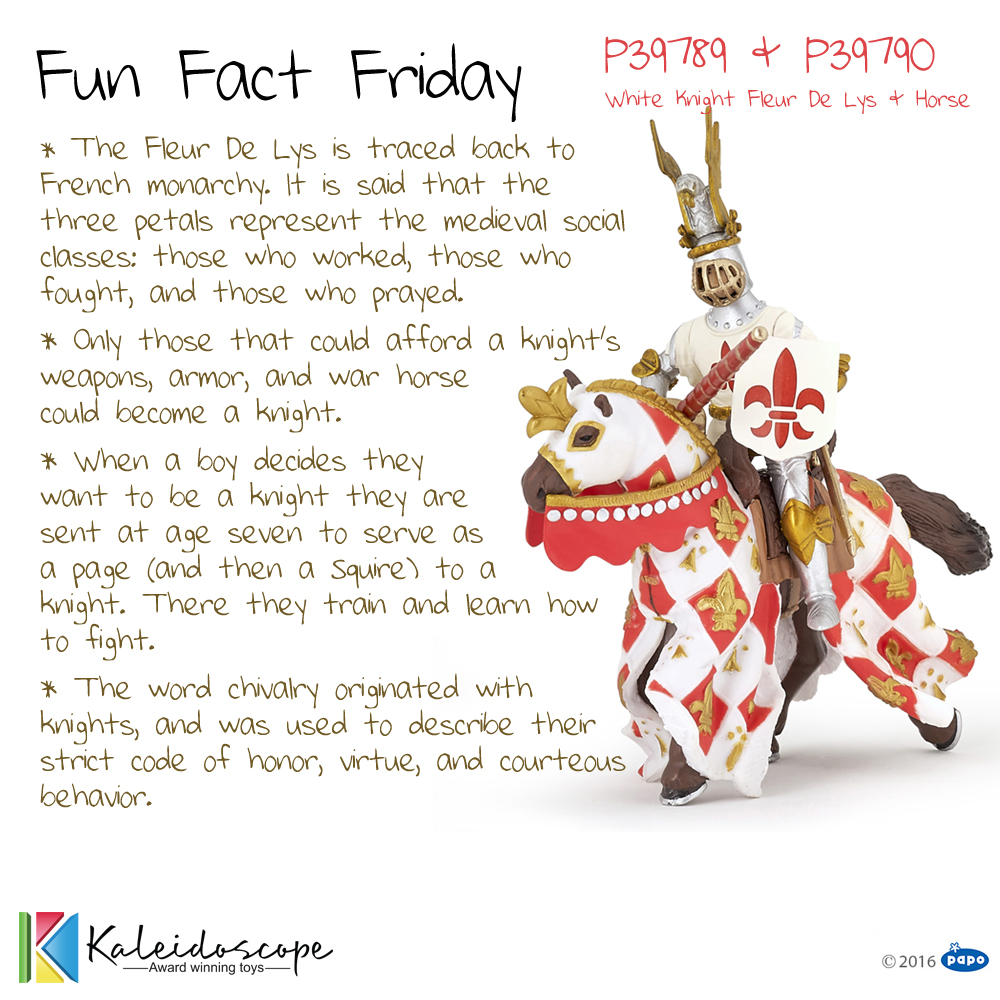 Fun Fact Friday P39789 P39790 Medieval Knights Fathers Day