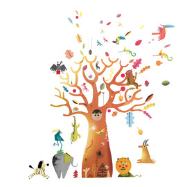 Wall Stickers^Baobab(1)
