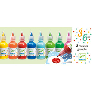 8 bottles of poster paint(1)