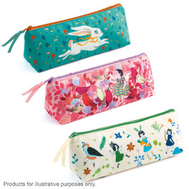 10 Assorted Pencil Cases