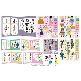 12 Assorted Paper Dolls(1)