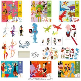 10 Assorted Paper Puppets(1)