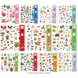 10 Assorted Stickers(1)