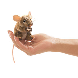 Mouse, Field, Finger Puppet(4)