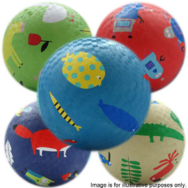 6 Assorted Playground Balls(1)