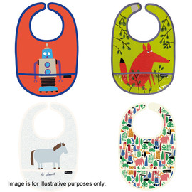 6 Assorted Petit Jr Bibs (1)
