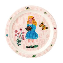 Baby plate pink 21 cm(1)