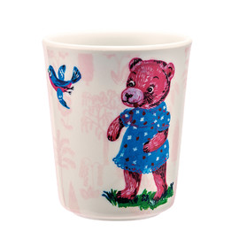 Drinking cup pink(1)