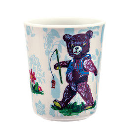 Drinking cup blue(1)