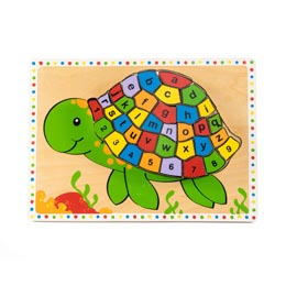 Turtle ABC and 123 Puzzle(1