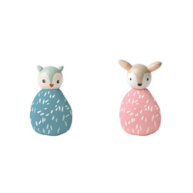 MIO Animal Set (owl/deer)#(1)