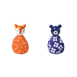 MIO Animal Set (fox/bear)#(1)