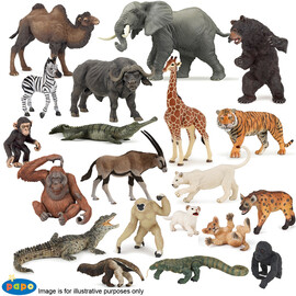 20 Assorted Wild Animals(1)