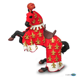 Red Prince Philip horse(1)