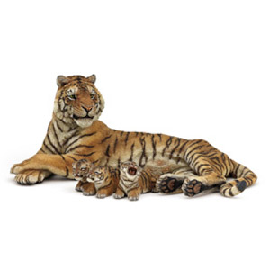 Lying tigress nursing(1)