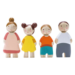 Four Wooden People