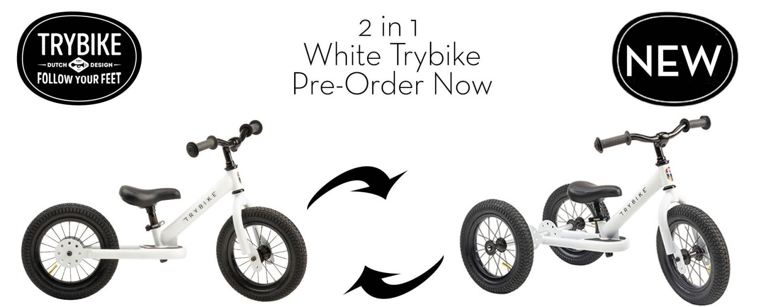 2020 Trybike Colour revealed! It is White