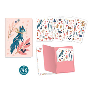 NotebookLucilleStickers146pc