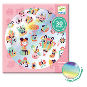 StickersLovelyRainbow30pc