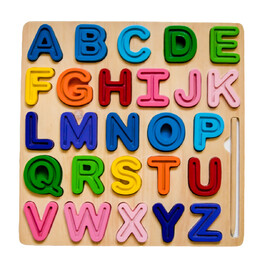 ABC (Uppercase) Chunky and Tra