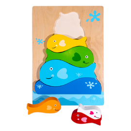 Fish Stacker Chunky Puzzle(