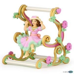 EnchantPrincess on swing chair