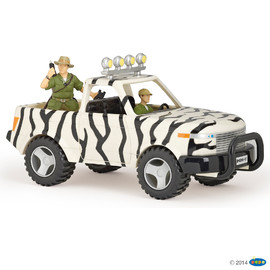 Jungle car and driver(1)