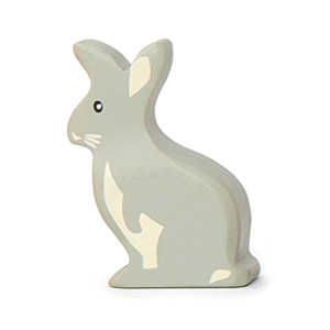 Rabbit Wooden Animal (6 pack)