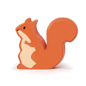 Squirrel Wooden Animal(6 pack)