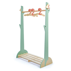 Forest Wooden Clothes Rack